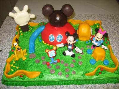 Mickey Mouse Clubhouse Cake Decorations