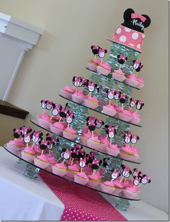 Minnie Mouse Cake Decoration
