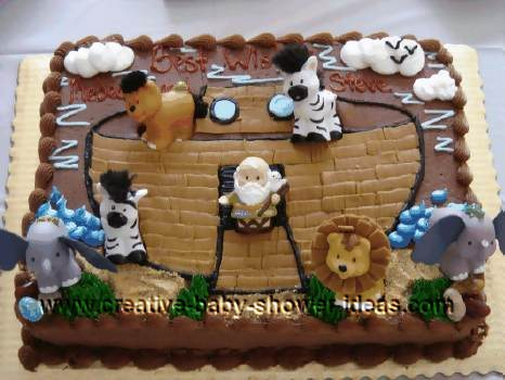 Noah S Ark Cake Decorations