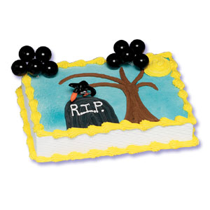 Over The Hill Cake Decorations