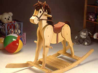 small rocking horse plans
