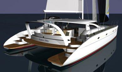 Wooden Power Catamaran Boat Plans ~ Sailing Build Plan