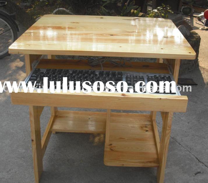 computer desk plans wood