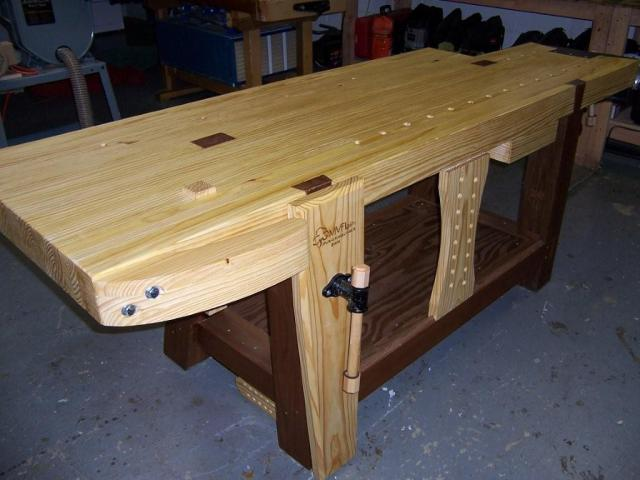 Woodworking Benches Plans