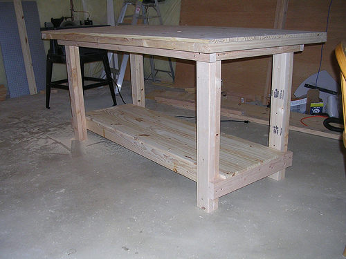 workbenches wood