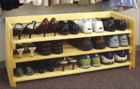 woodworking projects shoe rack