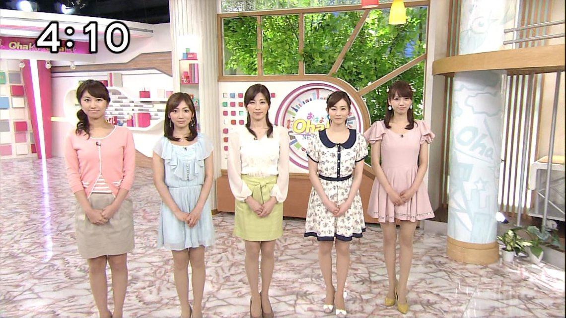 新井恵理那 Oha!4 NEWS LIVE   きゃぷろが