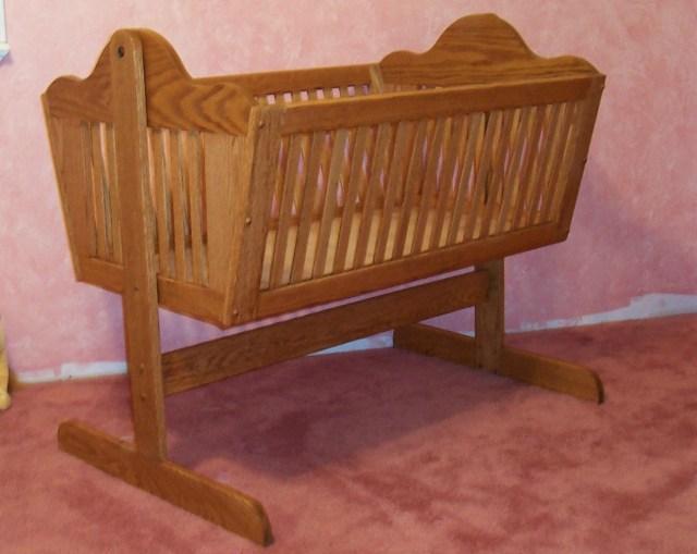 Wooden Baby Cradle Plans