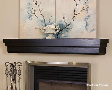 mantel shelf design