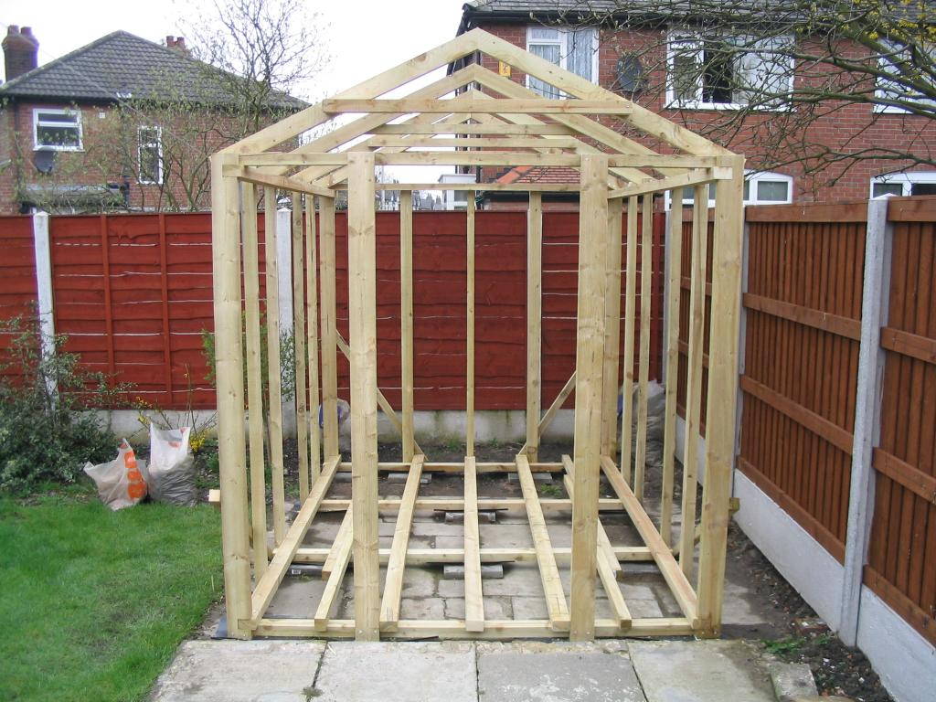 Shed Garden Wooden Garden Sheds 4x8