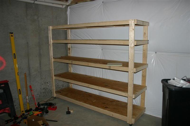 shelf plans 2x4