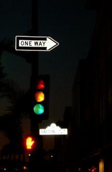 「あるがままに生きる」-交差点