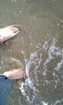 「あるがままに生きる」-浜辺