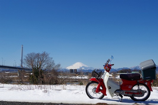 雪散歩 6