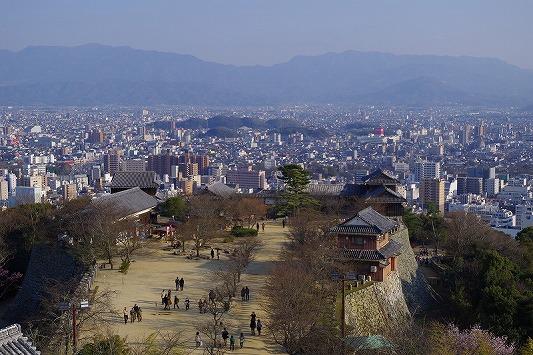 松山城 4