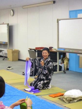 kimono obi teacher