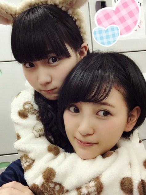 141105HKT48-AKB48兒玉遥(はるっぴ)田中美久
