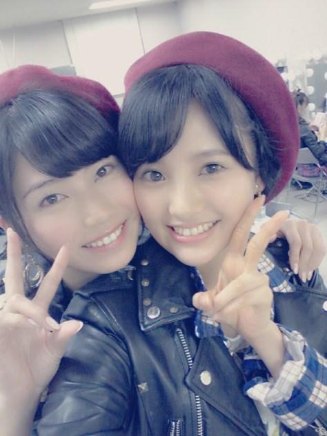 140929HKT48-AKB48兒玉遥(はるっぴ)横山由依