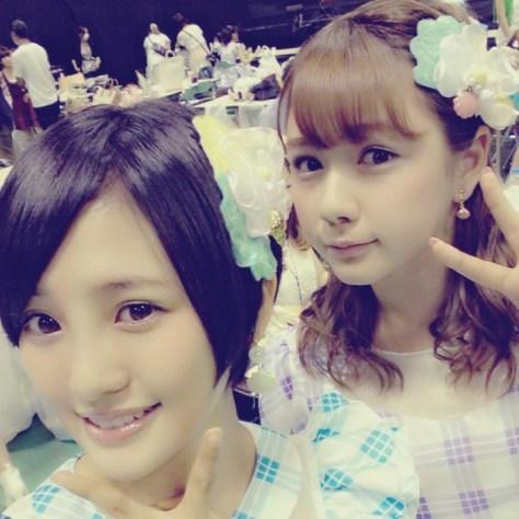 140828HKT48-AKB48兒玉遥(はるっぴ)村重杏奈
