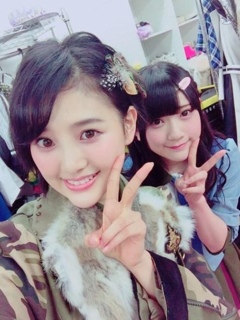 150224HKT48-AKB48兒玉遥(はるっぴ)-2山田麻莉奈