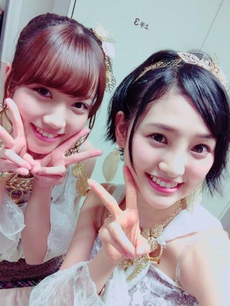 150310HKT48-AKB48兒玉遥(はるっぴ)-1 加藤玲奈