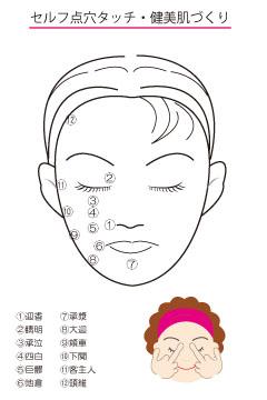 胃経顔面ツボ