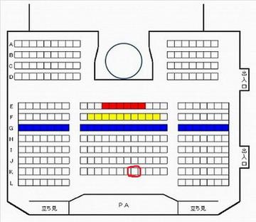 HKT48劇場座席図150129