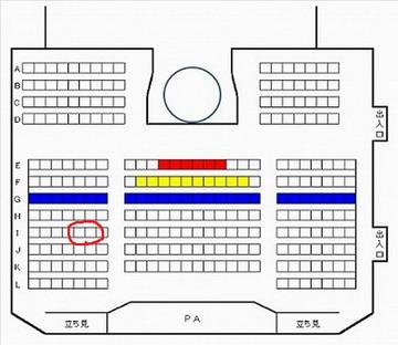 HKT48劇場座席図150217