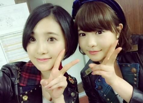 160127HKT48-AKB48兒玉遥755(はるっぴ)-1 with HKT48穴井千尋