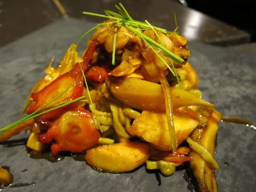 海鮮ピリ辛麺