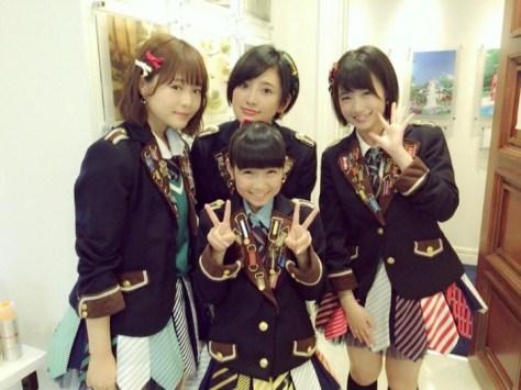 160516HKT48-AKB48兒玉遥755(はるっぴ)-1 with HKT48穴井千尋 朝長美桜 今村麻莉愛