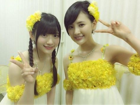 160520HKT48-AKB48兒玉遥(はるっぴ) with HKT48まりり