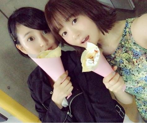 160430HKT48穴井千尋HKT48-AKB48兒玉遥(はるっぴ)