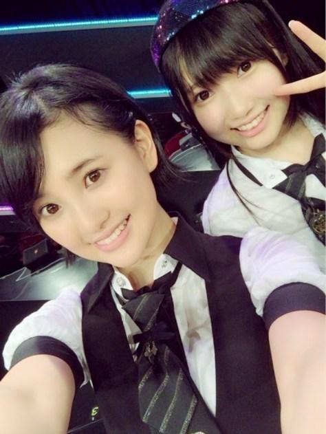 160616HKT48-AKB48兒玉遥(はるっぴ)-1 with井上由莉耶