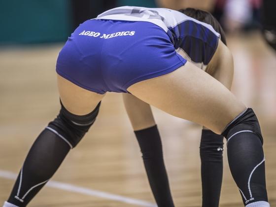 女子バレーボール選手のパンティライン&食い込み 画像24枚 1