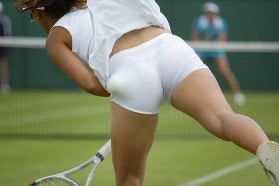 女子テニス選手の透けパンやお尻の食い込みをキャッチ 画像43枚 1