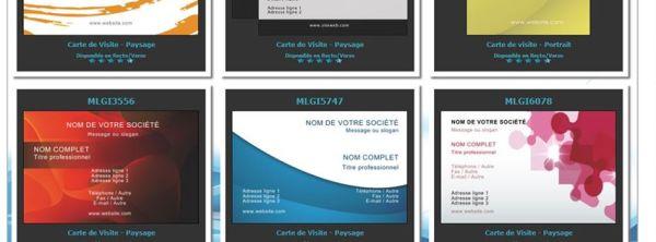 flyer et carte de visite à personnaliser