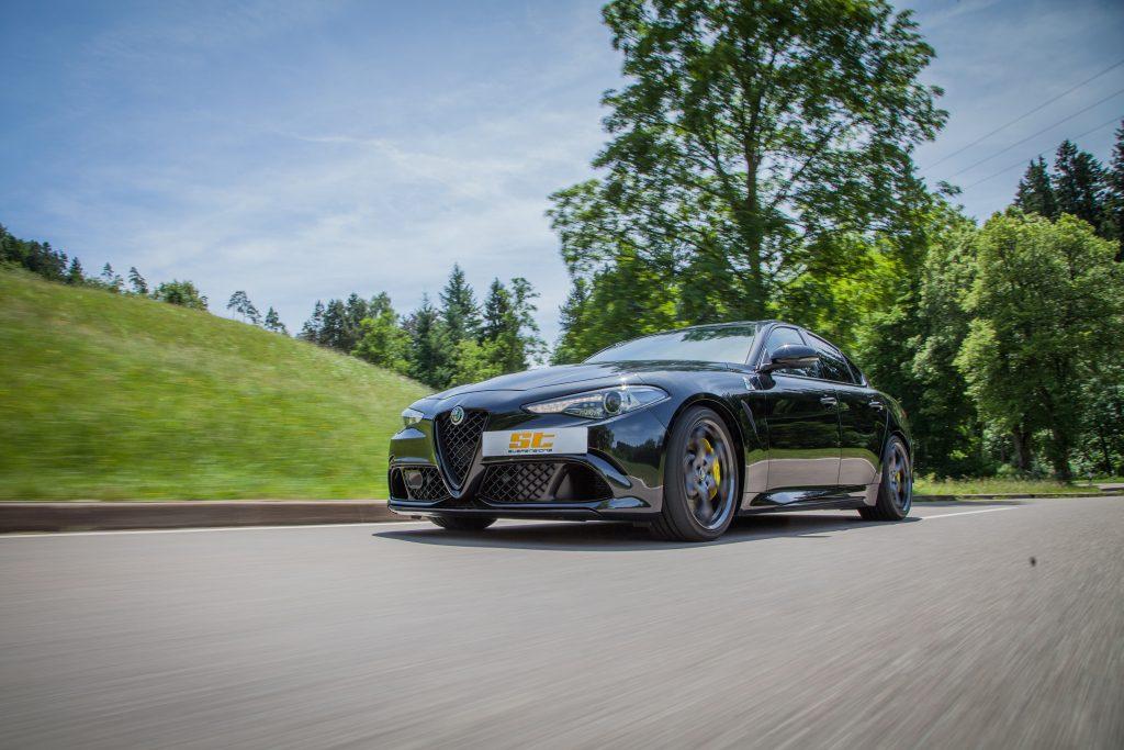 ST springs for Alfa Romeo Giulia Quadrifoglio