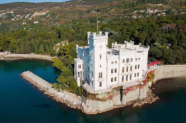 castillo-miramare-trieste - Guía Blog Italia