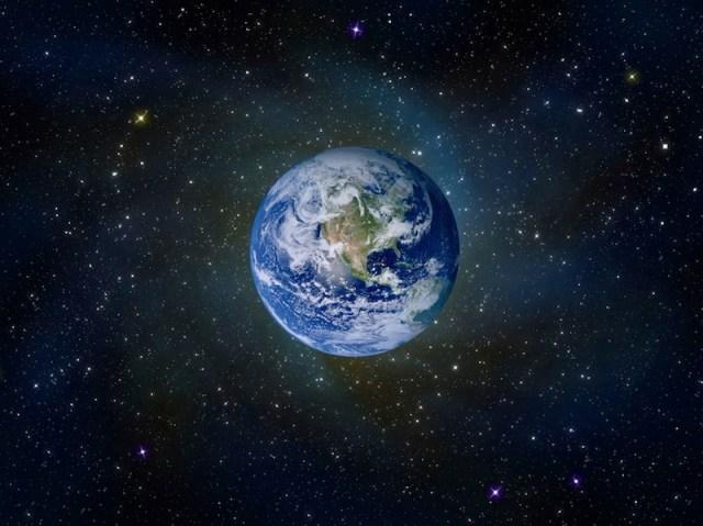 地球、宇宙、星