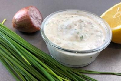 sauce potatoes légère