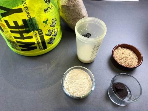 ingrédient pour une barre protéinée