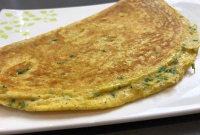 recette omelette ciboulette protéine