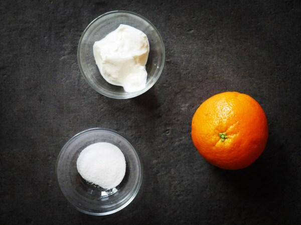orange givrée ingrédients