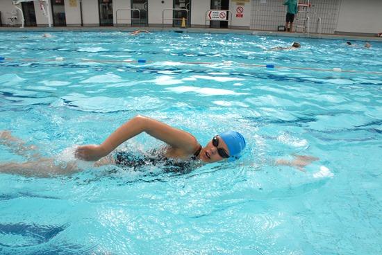 l'entraînement technique en natation pour le triathlon