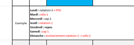 utiliser plan entrainement triathlon sprint 4