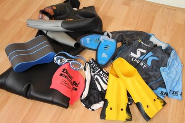 le matériel de triathlon 1