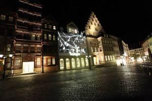 Beleuchtungsprobe Light Night 2010  Hildesheim (5)