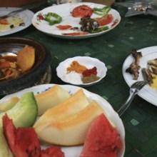 Von Marrakesch nach Ouazazarte: Taddert