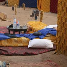 Wüstenfahrt: Unser Nachtlager